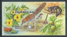 Madagascar Bloc-feuillet YT N°43 Oiseau Rollier à Longue Queue Rotary International Neuf/charnière * - Madagaskar (1960-...)