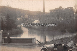 CARTE PHOTO ALLEMANDE   FLAVIGNY Le GRAND  1916  USINE ET LE DUC TRIIPS De L'ETAPPEN INSPEKTION ? - Other Municipalities
