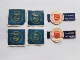 PHILIPS 75 AÑOS DE PROGRESSO 1891-1966 LUCHTPOST PAR AVION   6 SELLOS, 6 STAMPS - Uruguay