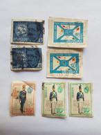 URUGUAY 7 SELLOS, BLANDENGUES DE ARTIGAS, JOSE RODO, CENTENARIO UNION POSTAL UNIVERSAL 1974 - Uruguay