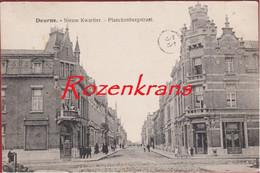 Deurne Antwerpen Nieuw Kwartier Planckenbergstraat Plankenbergstraat Nieuw Kwartier Geanimeerd ZELDZAAM - Antwerpen