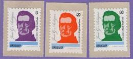 Uruguay 2015. Definitives. Miguel Angel Tuala. Plastic Artist. MNH - Uruguay