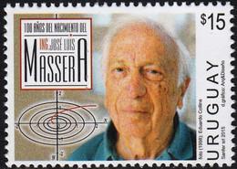 Uruguay 2015. Massera Mathematician.   MNH - Uruguay