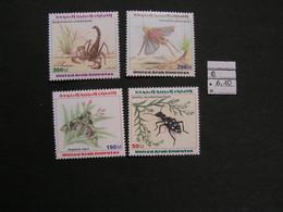 UAE 1999 ** MNH Lot  Tiere , Animals 608 - 612 - Emiratos Árabes Unidos