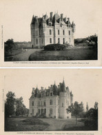 86. 2 CPA. SAINT PIERRE DE MAILLE - Chateau Des Escuries - Façades Ouest Et Sud , Nord Et Ouest - - Otros Municipios