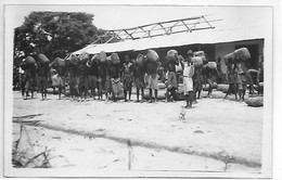 [ CONG ]  Congo Belge   --    (  15   )  Carte Photo à Identifier -  Les Rations - Congo Belga - Altri