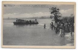 [ CONG ]  Congo Belge   --    (  95   )   Au Pays Des Eaux Et Fôrets - Les Voyages - Congo Belga - Altri