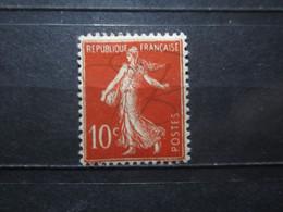 VEND BEAU TIMBRE DE FRANCE N° 135 , X !!! (b) - 1906-38 Semeuse Camée