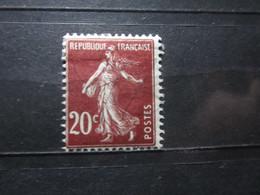 VEND BEAU TIMBRE DE FRANCE N° 139 , X !!! (b) - 1906-38 Semeuse Camée
