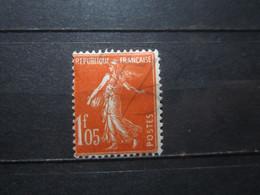 VEND BEAU TIMBRE DE FRANCE N° 195 , X !!! (d) - 1906-38 Semeuse Camée