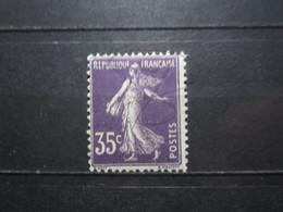 VEND BEAU TIMBRE DE FRANCE N° 142 , X !!! - 1906-38 Semeuse Camée