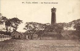 Tonkin HANOI  La Tour Du Mirador Recto Verso - Vietnam