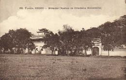 Tonkin HANOI Mirador ( Restes De La Citadelle Annamite) Recto Verso - Vietnam