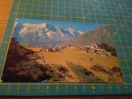 40570 VECCHIA CARTOLINA NEPAL CON FRANCOBOLLI - Nepal