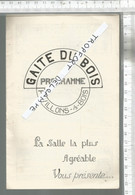 PG / Vintage //   PROGRAMME CINEMA Ancien @@ GAITE DU BOIS @@ Pavillons Sous Bois @@ Rin Tin Tin /  Laurel Hardy - Programmes