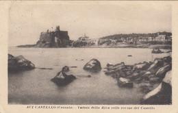 ACI CASTELLO-CATANIA-VEDUTA DELLA RIVA COLLE ROVINE DEL CASTELLO-CARTOLINA VIAGGIATA IL 13-3-1917 - Catania