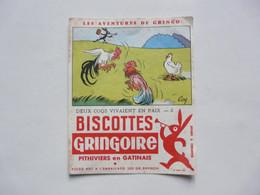 VIEUX PAPIERS - BUVARD : Biscottes GRINGOIRE - Pithiviers En Gatinais - Food