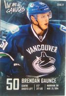 Canucks Vancouver Brendan Gaunce - 2000-Nu