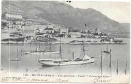 "MONTE CARLO : YACHT ""PRINCESSE ALICE"" - Monte-Carlo"