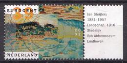Nederland - Kunst - Landschappen - Jan Sluijters - Gebruikt/gebraucht/used - NVPH 2096 Tab Rechts - Usados