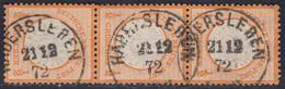BRUSTSCHILD Nr.18 Im Senkrechtem 3er Streifen Saubere Schleswig-Holstein-K1 HADERSLEBEN (ch20) - Gebraucht