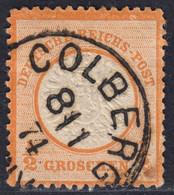 BRUSTSCHILD Nr.18 Idealer Sauberer K1 COLBERG (ch20) - Gebruikt