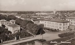 Cartolina - Santhià - Panorama - 1943 - Vercelli