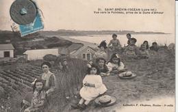 44 - Très Belle Carte Postale Ancienne De Saint Brévin L'Océan  Vue Vers Le Pointeau , Prise De La Dune D'Amour - Saint-Brevin-l'Océan