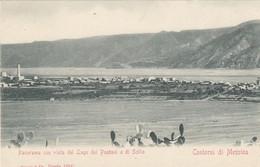 MESSINA-PANORAMA CON VISTA DEL LAGO DEI PANTANI E DI SCILLA-CARTOLINA NON VIAGGIATA-1900-1904 - Messina