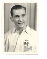 R. Antwerp F.C. Seizoen 1956-57 Kampioen Van België - Constant De Backker (Vosselaar) - Met Handtekening. - Fussball