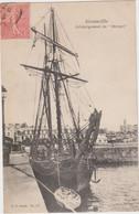"""CPA - 50 - GRANVILLE - Déchargement Du """"MARGOT"""" - Très Beau Cliché 1906 édit VP Paris N° 21 - Granville"""