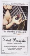 """Étiquette Et Contre étiquette """" SAINT-POURCAIN - La Chambre D'Edouard 2017 """" (524) _ev615 - Red Wines"""