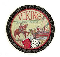 ETIQUETTE De FROMAGE.. CAMEMBERT Fabriqué En ILLE Et VILAINE.. Viking.. Roger LANQUETOT Et Fils à VERN Sur SEICHE (35) - Cheese