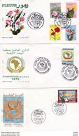 ALGERIE FDC PREMIERS JOURS D EMISSION - Algeria (1962-...)