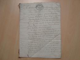 CACHET DE GENERALITE EXPEDITION 8 SOLS LOIRET 1793 - Gebührenstempel, Impoststempel