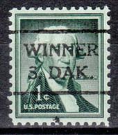 USA Precancel Vorausentwertung Preo, Locals South Dakota, Winner 716 - Preobliterati