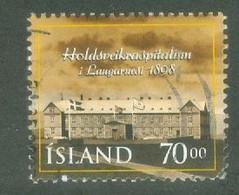 Iceland 1998; Lepra Hospital - Michel 892, Used. - Oblitérés