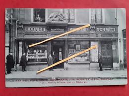 Librairie  Papeterie Imprimerie   J B      Schmitt Et Fils   BELFORT - Belfort - Ciudad