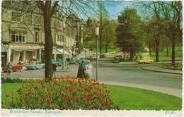 Harrogate : RILEY ELF, AUSTIN 1100, JAGUAR MKII, RENAULT 4, DKW JUNIOR, FORD ANGLIA, AUSTIN MINI - Montpellier Parade - Passenger Cars