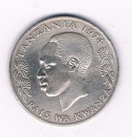 1 SHILLINGI 1974 TANZANIA /8367/ - Tanzania
