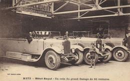 METZ - HOTEL ROYAL - UN COIN DU GRAND GARAGE DE 80 VOITURES - Metz