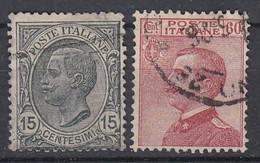 ITALIË - Michel - 1918 - Nr 130/31 - Gest/Obl/Us - Usati