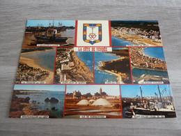 LA COTE DE VENDEE - MULTI-VUES - EDITIONS AS-DE-COEUR - ARTAUD FRERES - - Bretignolles Sur Mer