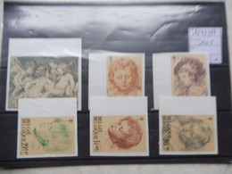 Belgique 1272/1277 Non Dentelé Rubens  / Belgie 1272/7 Ongetand Rubens - Ongetande