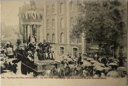 Ath // Cortege Des Fetes Communale - La Ville D Ath Representeert Par Ses Hommes Les Plus Illustres (Char) Ca 1900 - Ath