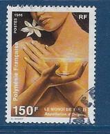 """Polynésie YT 476 """" Le Monoï """" 1995 Oblitéré - Used Stamps"""