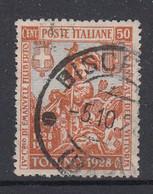 ITALIË - Michel - 1928 - Nr 288B - Gest/Obl/Us - Usati