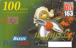 Philippines, Bayan Tel, 2001, Happy Holidays, Christmas - Filippine