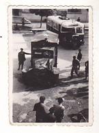 PHOTO  9 X 6  LA  RESISTANCE  EN  SOUVENIR DU MAQUIS  AOUT 1944  NOTRE BLINDE  DANS LA MAURIENNE  VOIR VERSO - Guerra, Militari