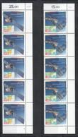 YY269 1991 GERMANY EUROPA CEPT SPACE EUROPEAN AEROSPACE SATELLITES !!! 5SET MNH - Europa-CEPT